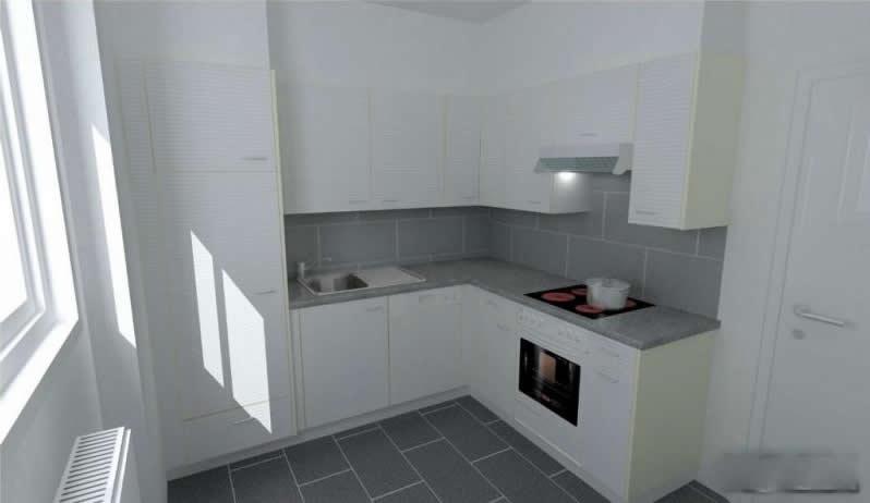 Agencements de cuisines as cuisine alain saugeon for Simulation plan cuisine